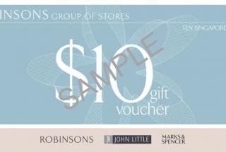 Robinsons Gift Voucher $50