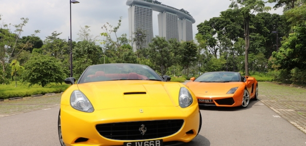 Drive a Supercar around the F1 Track (15 mins)