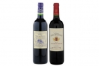 Bordeaux Red Wine Duo with Corkscrew gift & includes delivery