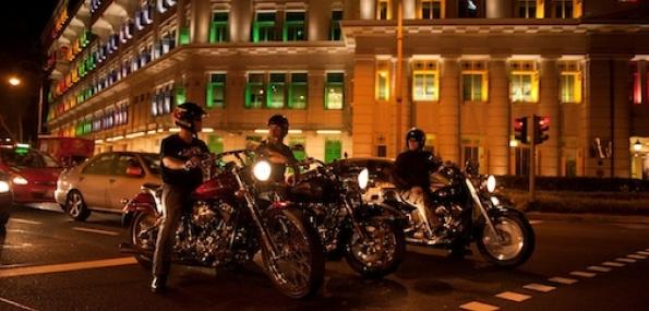 Singapore Heritage Harley Tour